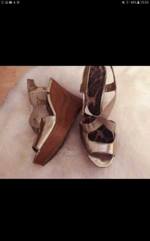 Jessica Simpson Wedges 39 gold