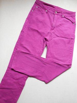 JET LINE Stretch Jeans Pink Gr. 38 / L 30 grades Bein Neu