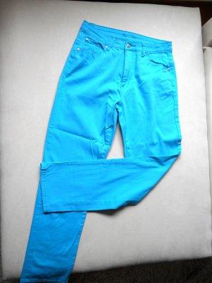 JET LINE Stretch Jeans Türkis Gr. 38 / L 30 grades Bein Neu