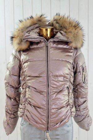 JET SET Damen Jacke Daunenjacke Skijacke Ski MOD. 11420 ARCTIC1 GALAXY METAL Gr.L