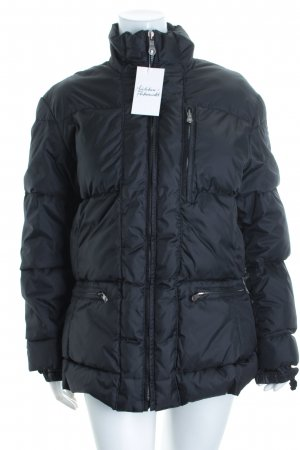 Jet Set Steppjacke schwarz Steppmuster Casual-Look