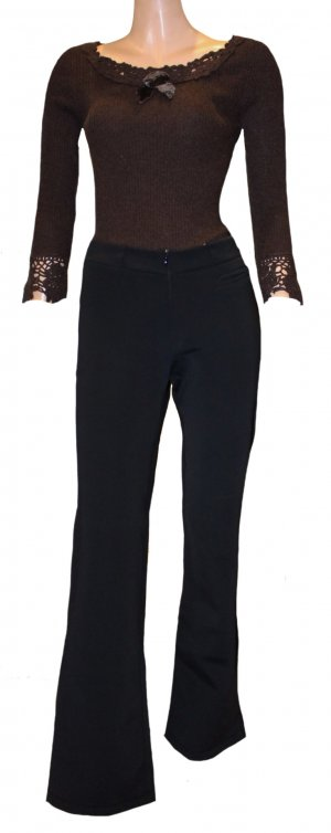Jet Set Thermal Trousers black polyamide
