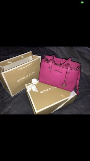 Michael Kors Carry Bag pink-silver-colored