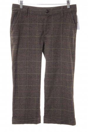 Jette 3/4-Hose Glencheckmuster Casual-Look