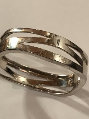 Jette Bangle silver-colored