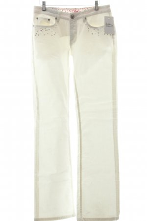 Jette Boot Cut Jeans weiß Casual-Look