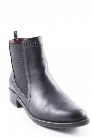 Jette Chelsea Boots schwarz Casual-Look