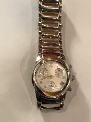 Jette Watch With Metal Strap silver-colored