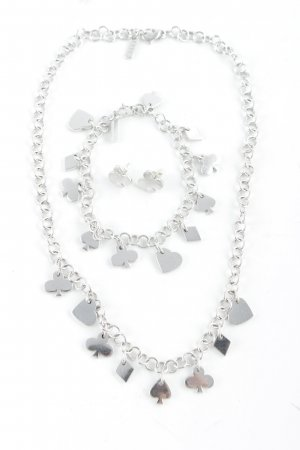 Jette Necklace silver-colored casual look
