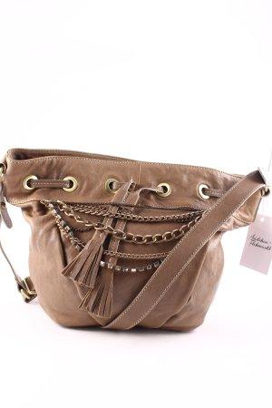 Jette Handtasche hellbraun Street-Fashion-Look