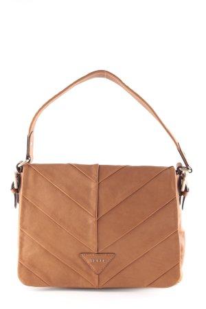 Jette Carry Bag dark orange zigzag pattern elegant