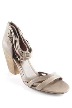 Jette High Heel Sandal grey brown party style