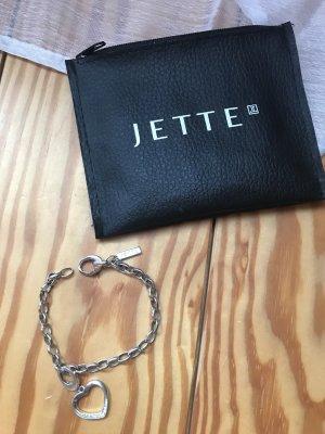 Jette Joop Armband mit Herzanhänger aus Silber