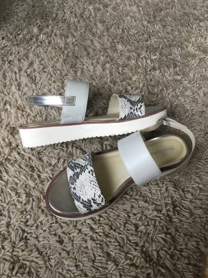 Jette Joop for Blue Motion Plateau Sandaletten Silber