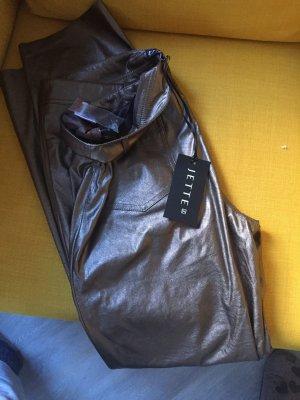 Jette Joop Drainpipe Trousers bronze-colored