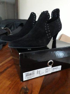 Jette Joop Pointed Toe Pumps black leather