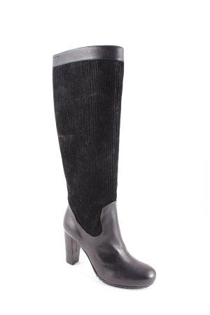 Jette Joop Reißverschluss-Stiefeletten schwarz Elegant