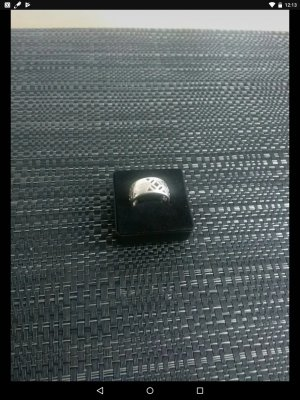 Jette Joop Silver Ring silver-colored