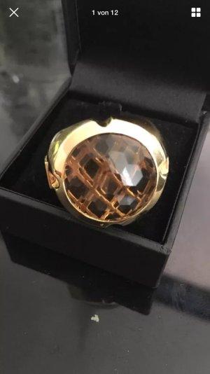 Jette Joop Ring massiv 18 ct Gelbgold