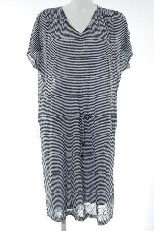 Jette Joop Shirtkleid schwarz-weiß Streifenmuster Casual-Look