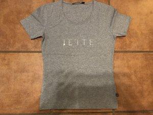 Jette Joop T-Shirt mit Glitzeraufdruck
