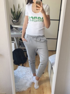 JETTE JOOP T-Shirt Shirt weiß Pailletten grün mint Gr. 38