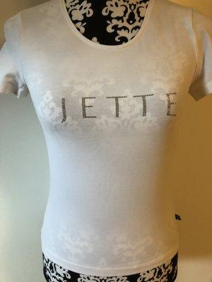 Jette Joop Tshirt mit Glitzerlogo