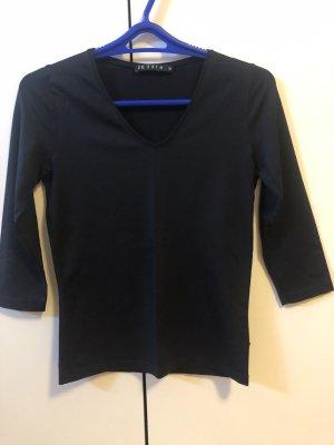 Jette Joop T-shirt col en V noir