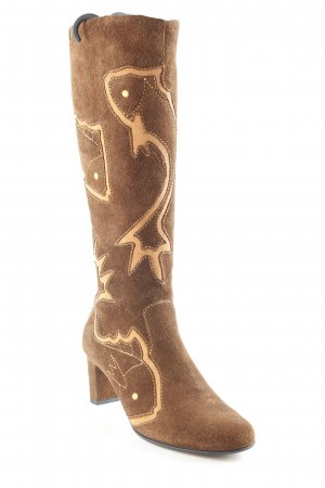 Jette Joop Western Boots animal pattern country style