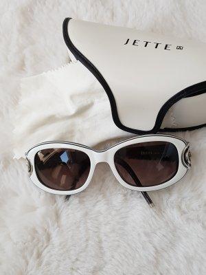 Jette Joop Lunettes de soleil blanc-noir