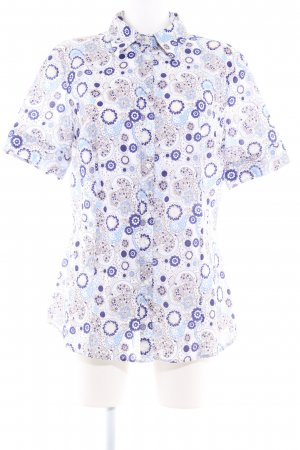Jette Kurzarm-Bluse florales Muster Casual-Look