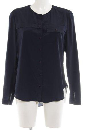 Jette Langarm-Bluse blau Casual-Look