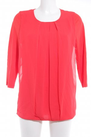 Jette Langarm-Bluse rot Casual-Look
