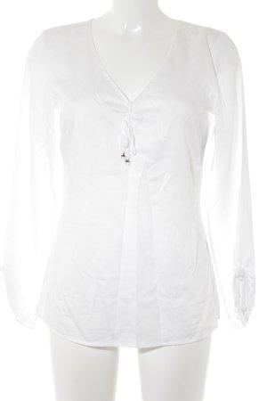 Jette Langarm-Bluse weiß Elegant