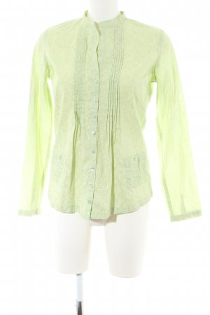 Jette Langarmhemd grün abstraktes Muster Business-Look
