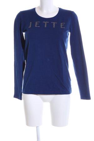 Jette Longsleeve blau Casual-Look