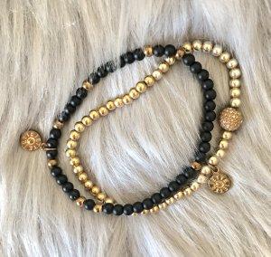 Jette Bracelet black-gold-colored