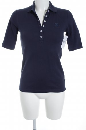 Jette Polo-Shirt dunkelblau Casual-Look