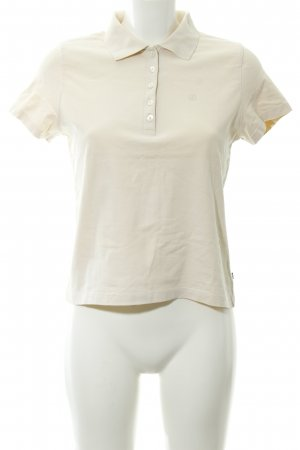 Jette Polo-Shirt hellbeige Casual-Look