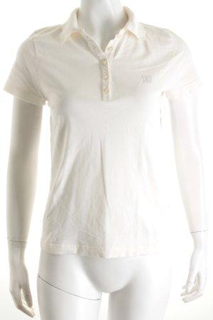 Jette Polo-Shirt weiß Segel-Look