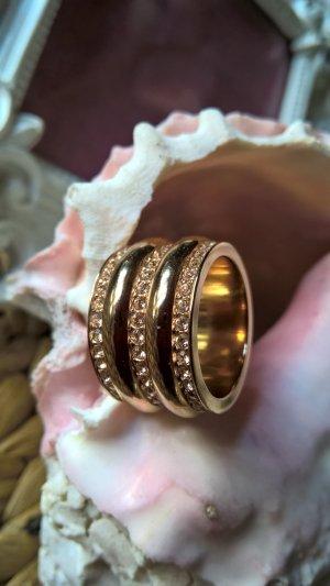 JETTE Ring im zarten Rose' Gr.57