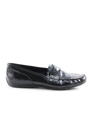 Jette Slip-on noir style d'affaires