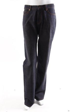 Jette Straight Jeans dunkelblau