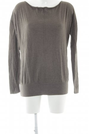 Jette Strickpullover graubraun Casual-Look