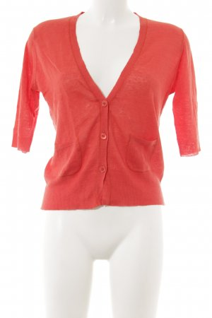 Jette Strickweste rot Casual-Look
