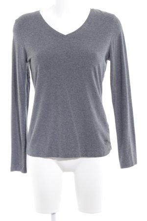 Jette Sweatshirt dunkelgrau-grau meliert Casual-Look