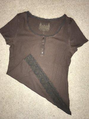 Jette Camisa marrón-marrón oscuro