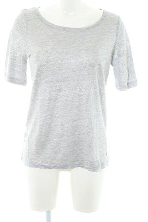 Jette T-Shirt hellgrau-silberfarben meliert Casual-Look