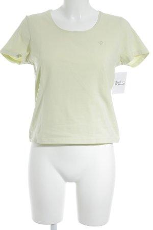 Jette Camiseta verde claro look casual
