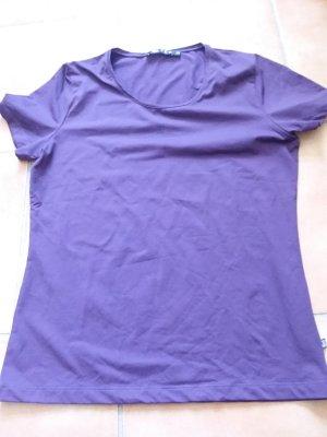 JETTE T-Shirt, Kurzarm, in Aubergine, Gr. 40